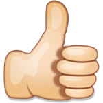 :Thumbs_Up_Hand_Sign_Emoji_large(150x150):
