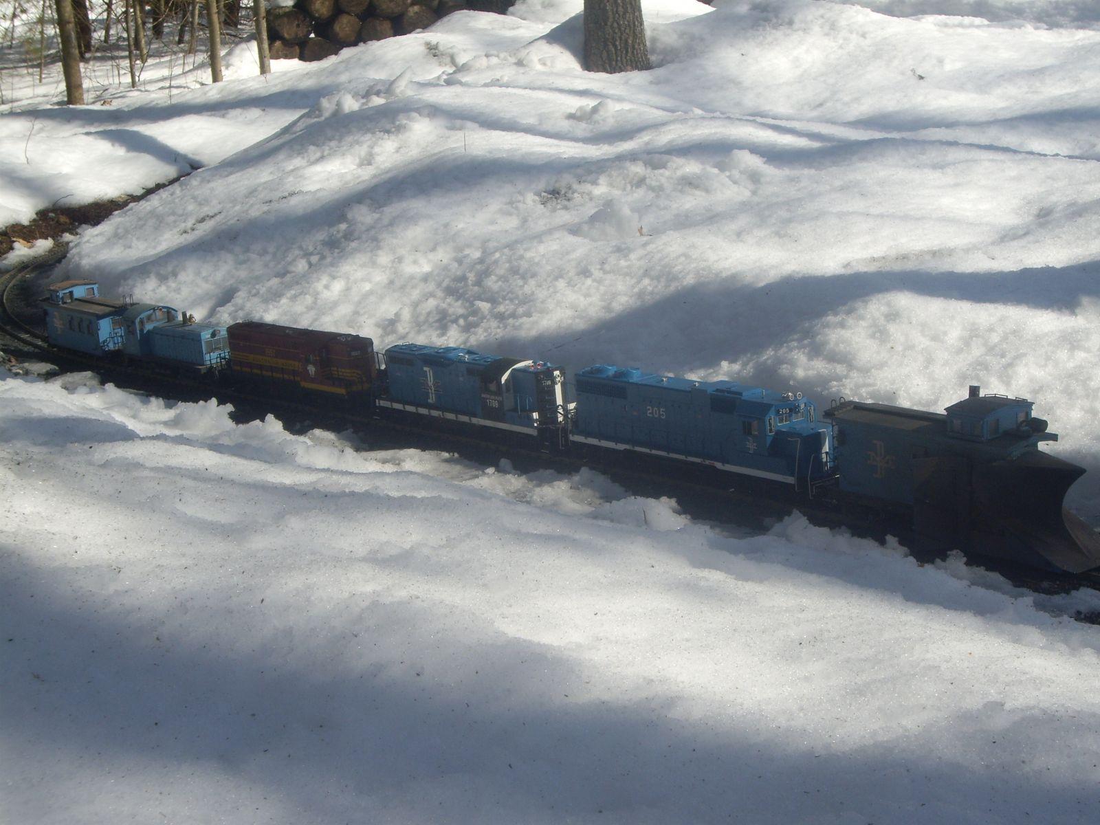 Plow train