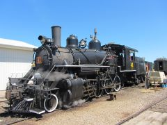 Alberta Great Train Adventures - Locomotive