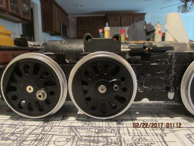PRR T1 kitbash from 2 Hudsons - Page 2 - Kitbashing & Model