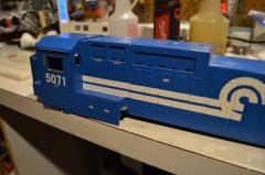 MTH Dash shell only left side